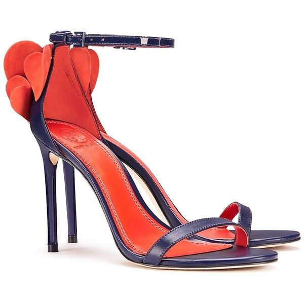 f56570fcc30 Tory Burch Heart Sandals ( 325) ❤ liked on Polyvore featuring shoes ...