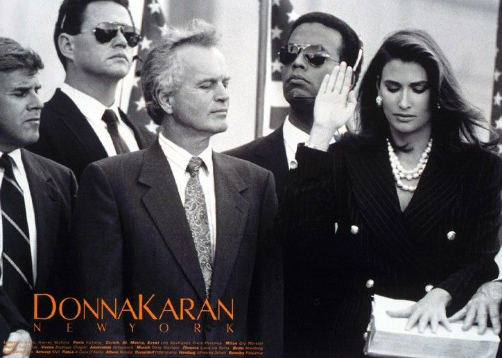 Here's What Donna Karan Thought the First Female President Might Look Like in 1992