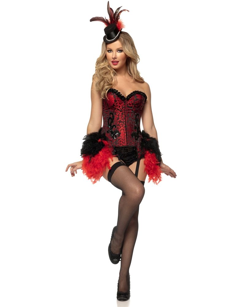 Burlesque Showgirl Adult Womens Costume Price: $95.99