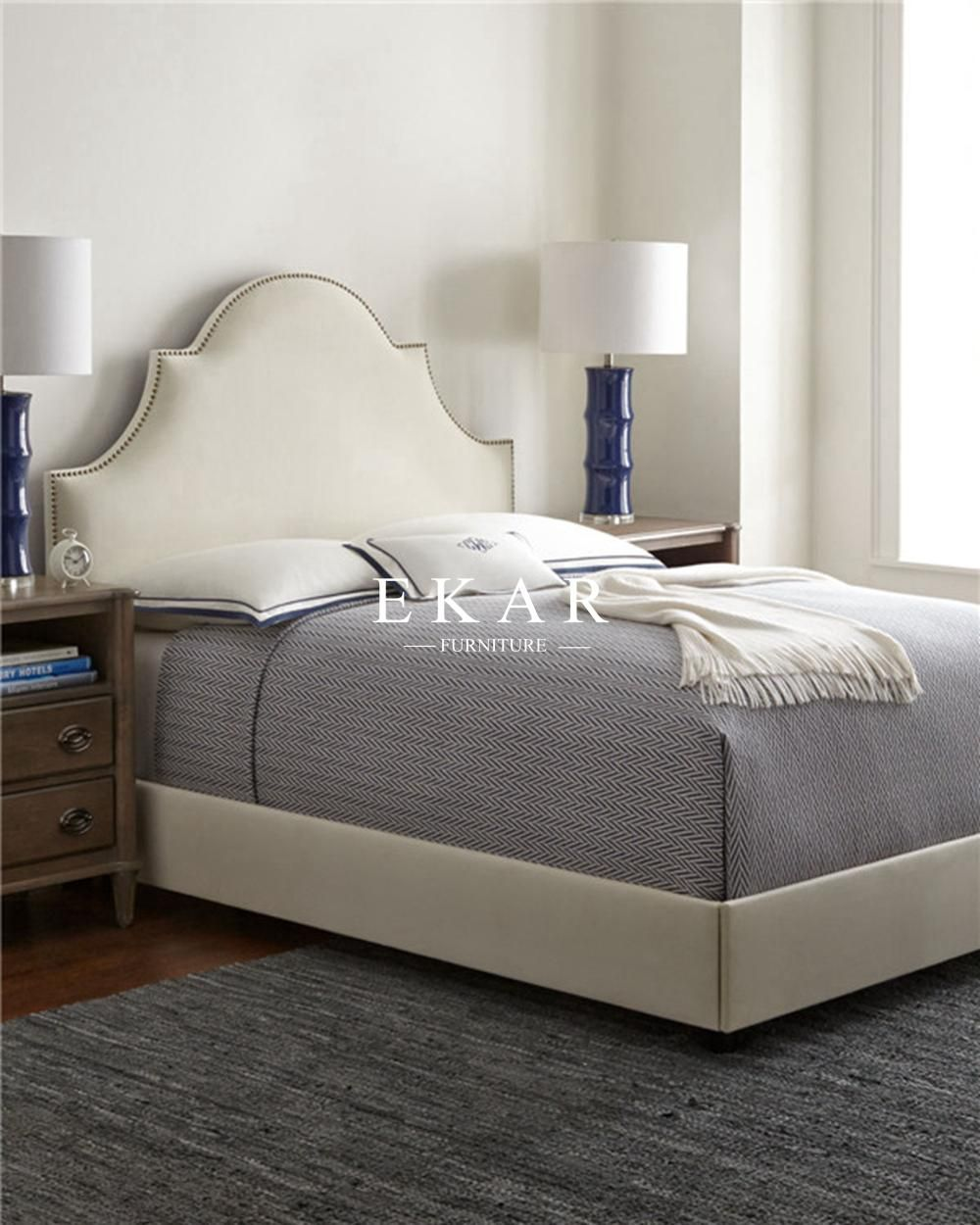 bed furniture (Fabric Soft Solid Wood), Buy Direct from ...