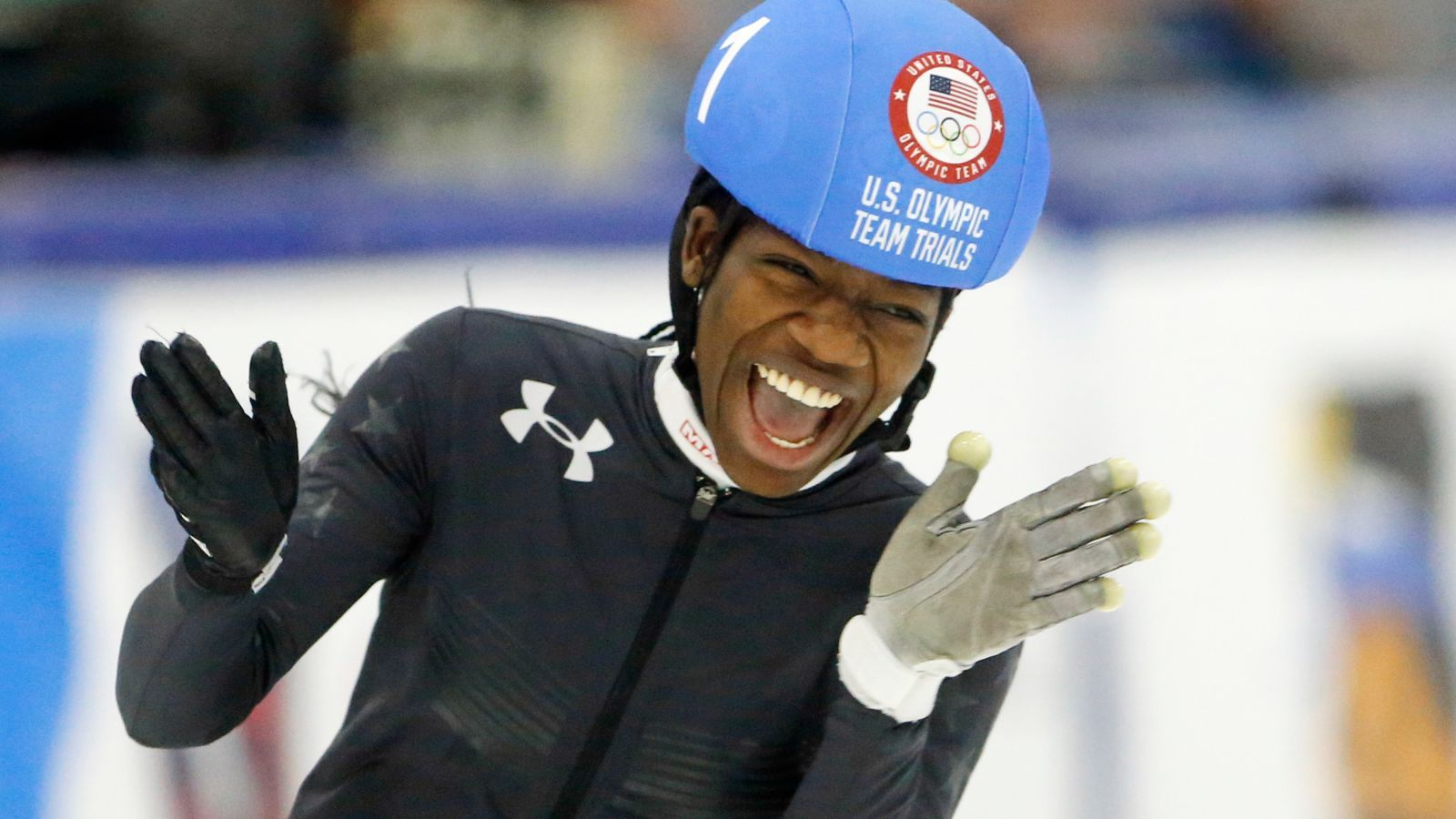 7fd141899067 17-Year-Old Maame Biney Becomes 1st Black Girl to Make US Olympics Team for  Speed Skating