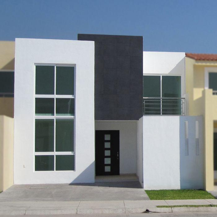 Fotos e im genes de fachadas de casas minimalistas o for Plantas casas minimalistas
