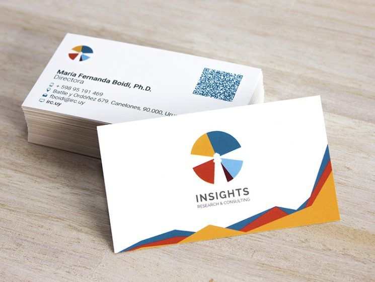 Insights Research Consulting Business Card Business Card Design Inspiration Business Card Inspiration Business Card Design Laminated Business Cards