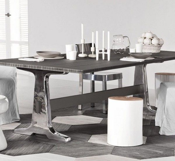 Brick 133 134 is a table by paola navone for gervasoni for Martinel mobili