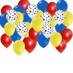 Paw Patrol Balloons Birthday Party Favor Latex Balloons 6 Pieces