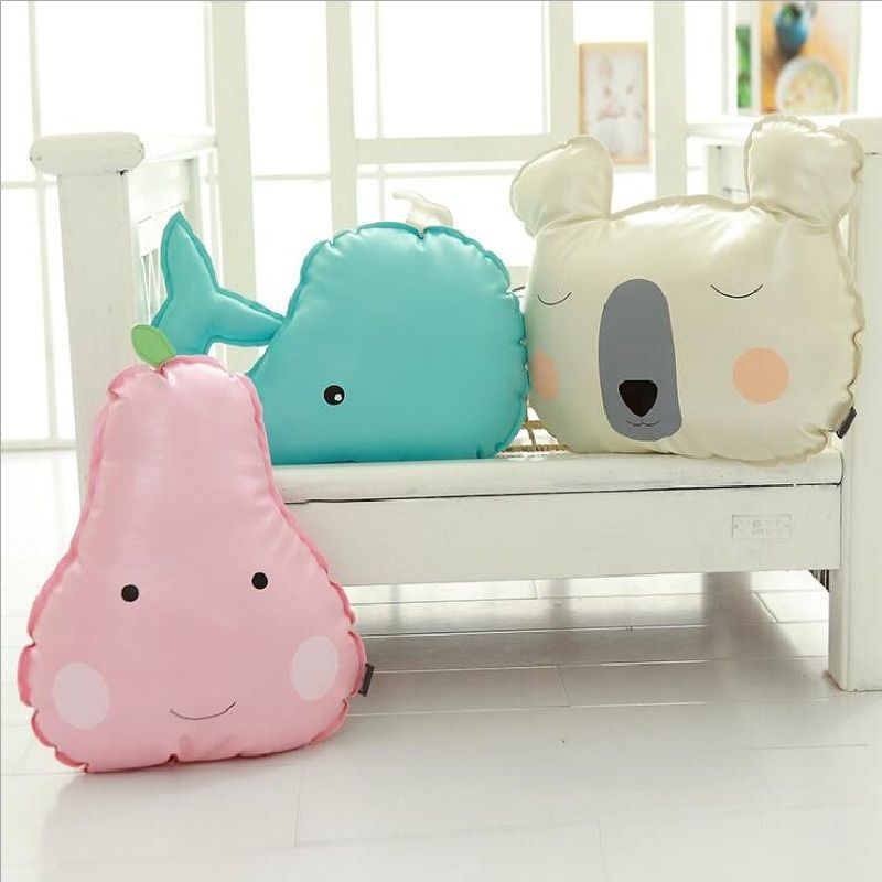 Cute Animals Bear Whale Fruit Pear Cactus Shape Cushion Pillow Kids Bed Room Decor Baby Calm Sleep Dolls Photo Props Nordic Toys-in Stuffed & Plush Animals from Toys & Hobbies on Aliexpress.com | Alibaba Group #bearbedpillowdolls