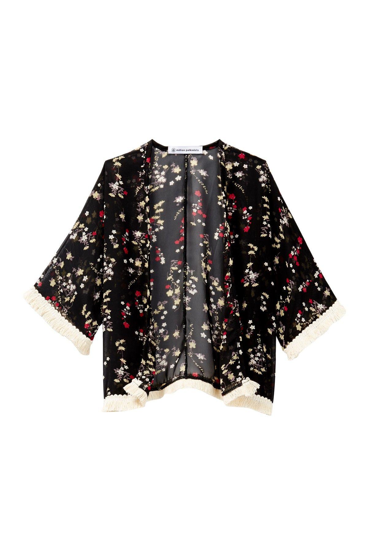 Floral Kimono (Baby, Toddler, & Little Girls)