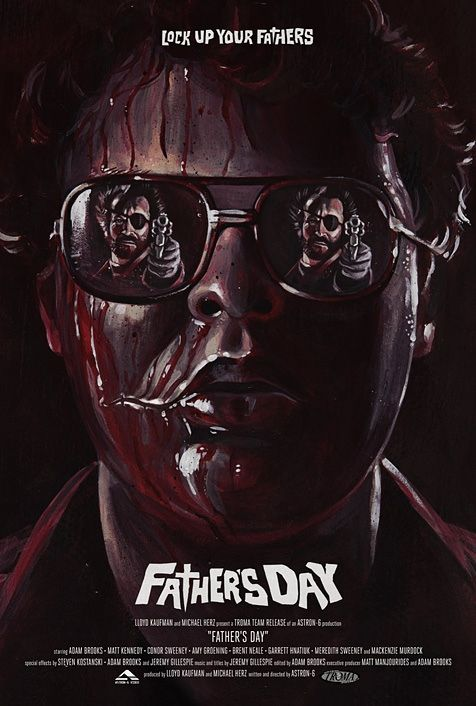 Akiko Stehrenberger Created A Poster For Father S Day Fathers Day Poster Father S Day Movie Horror Movie Posters