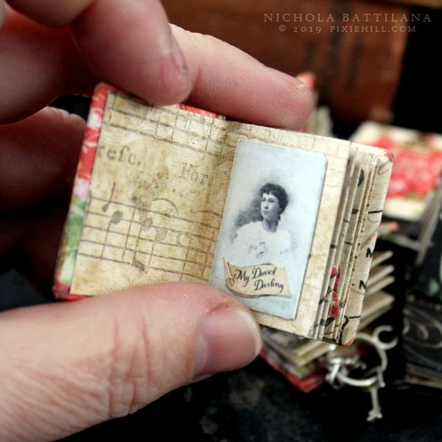 No 2 Micro Mini Matchbox Journal
