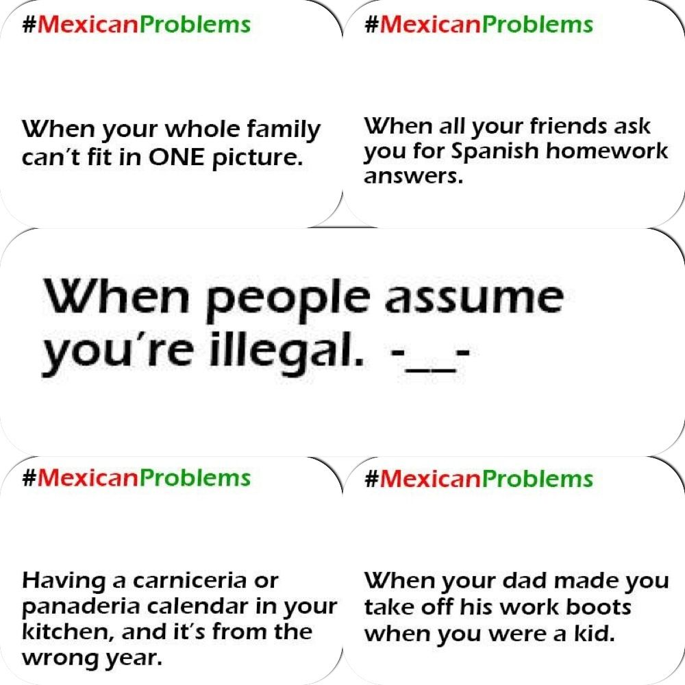 So mexican!