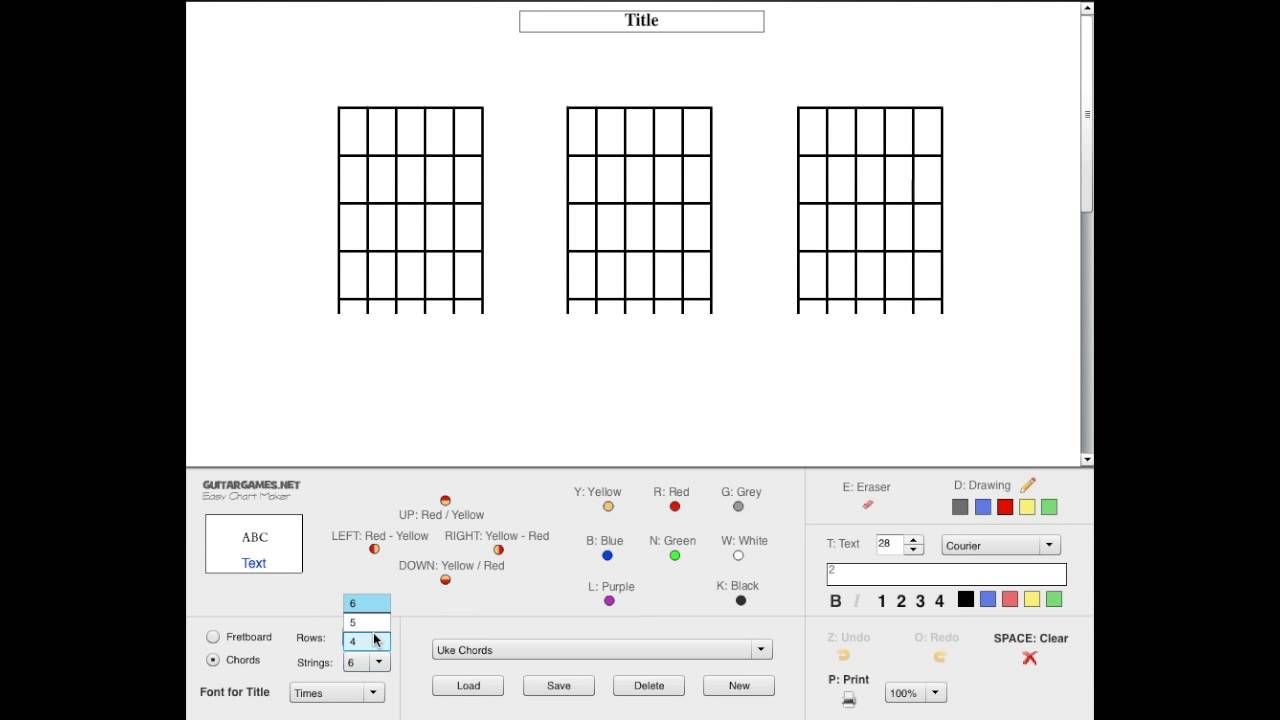 Easy Chart Maker Is A Free Online App That Creates Scale And Chord