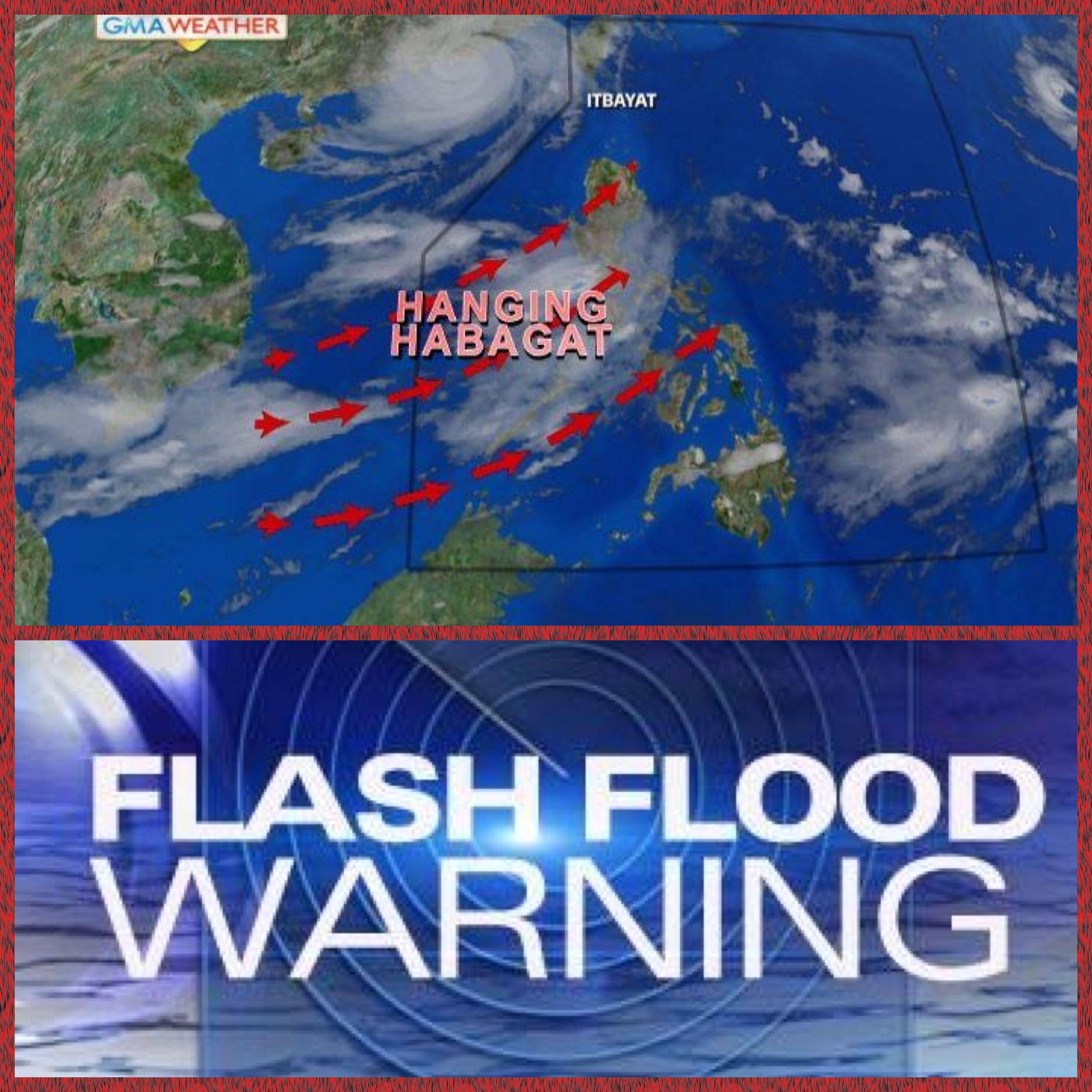 Super Typhoon Odette Usagi Left The Philippines Saturday Night But It Continues To Enhance The Southwest Monsoon B Occidental Mindoro Zambales Flood Warning