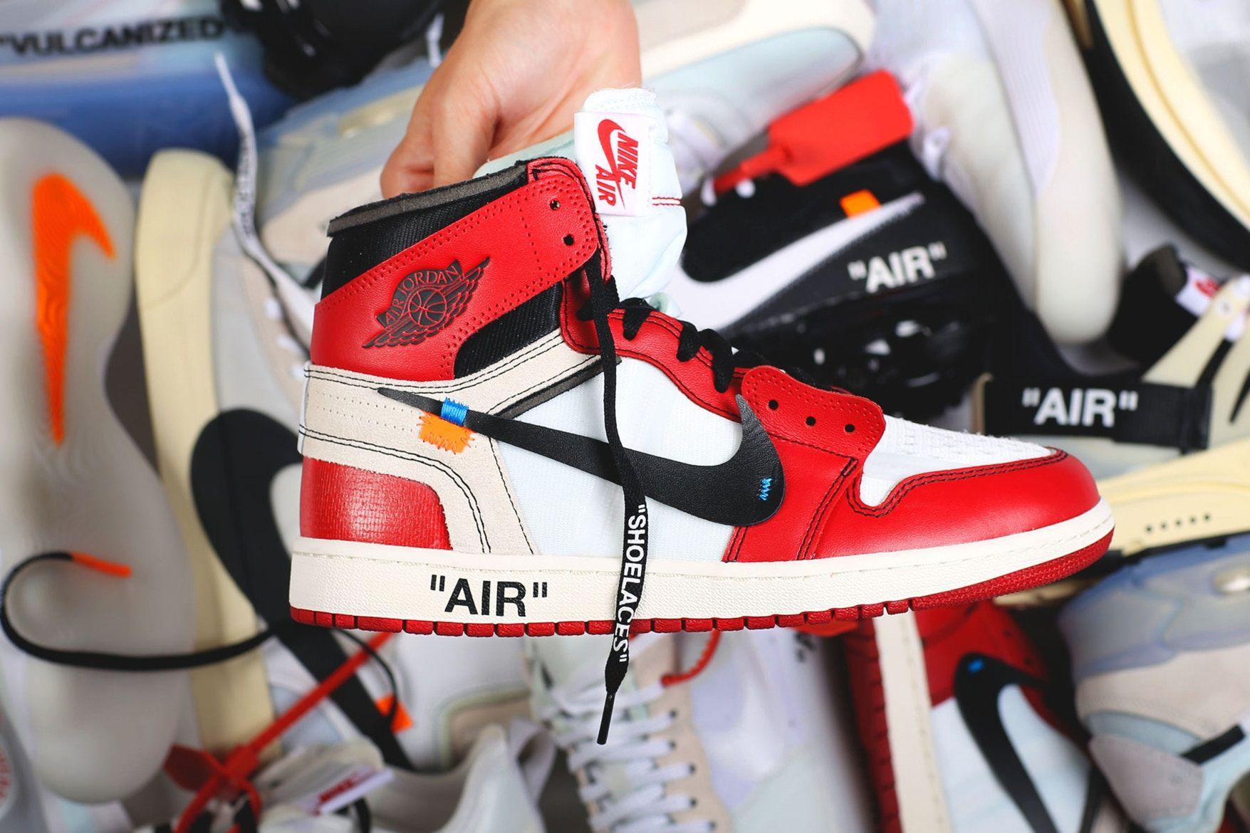 Off White Air Jordan 1 Retro High Og 10x Aa3834 101 Black Nike
