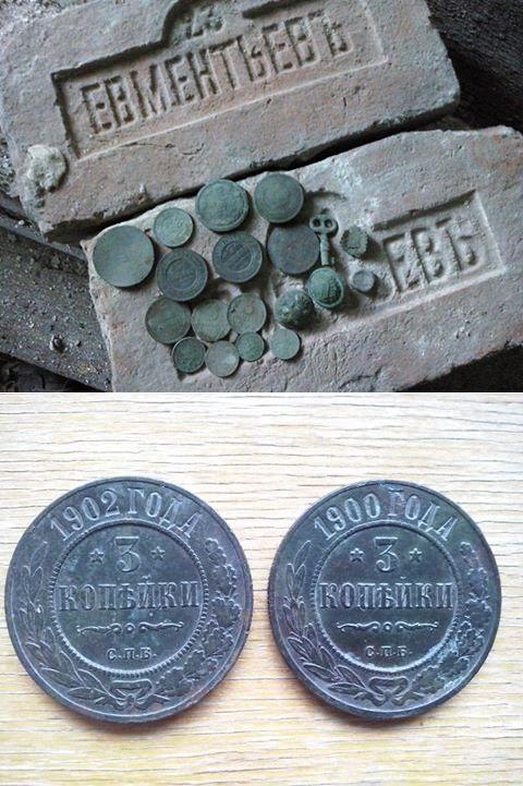 На выходных сходил в домик на весь день,результатом в принципе доволен.  #metal detecting #finds  #history  #tools #diy #hunting #coins #locations #treasures