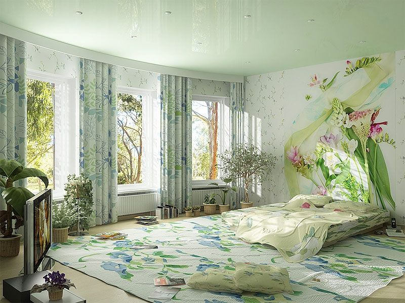 Nature Style Bedroom