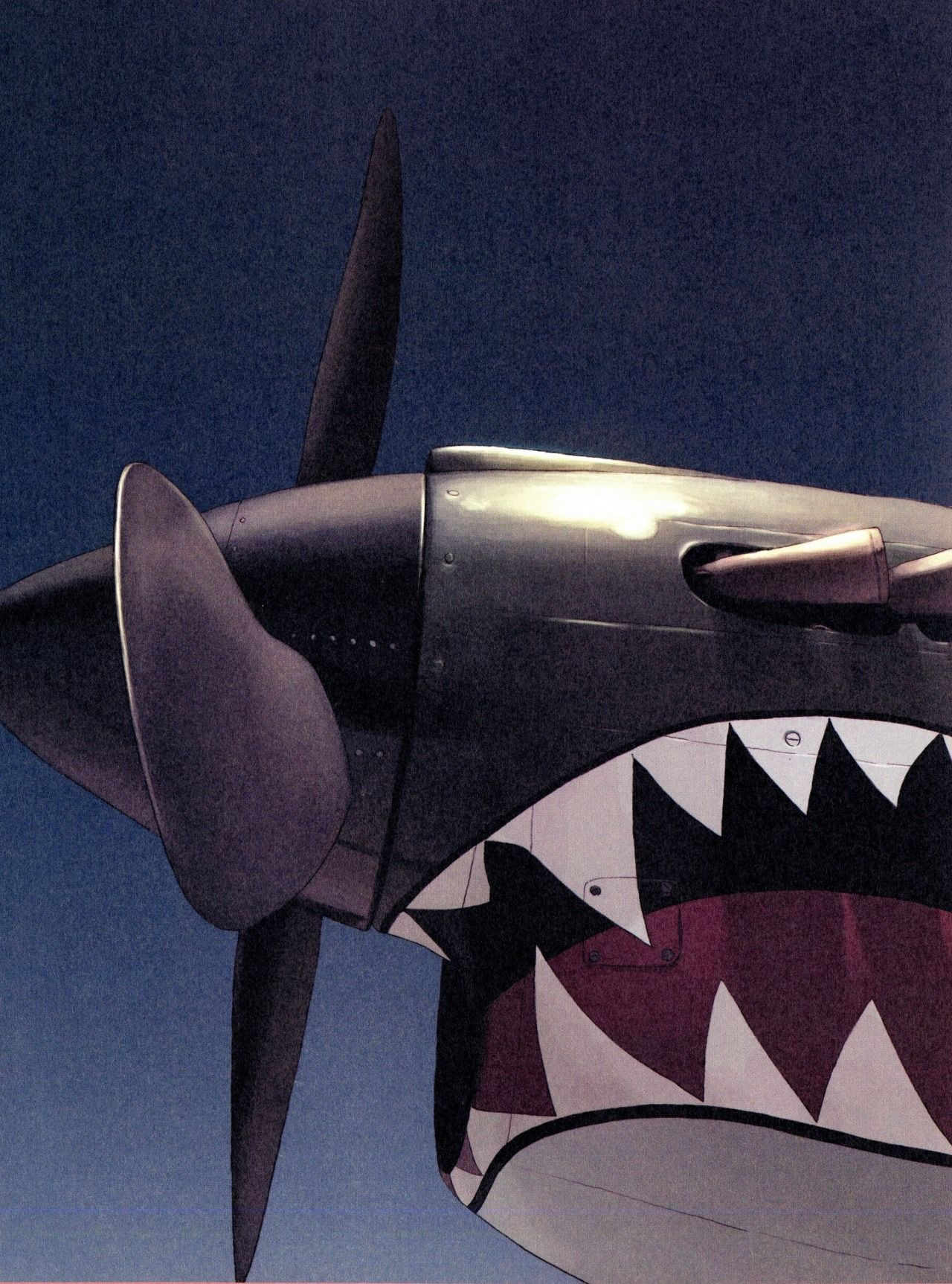 Aircraft Carrier Engine Room: Nose Art, Vintage Planes, Aircraft