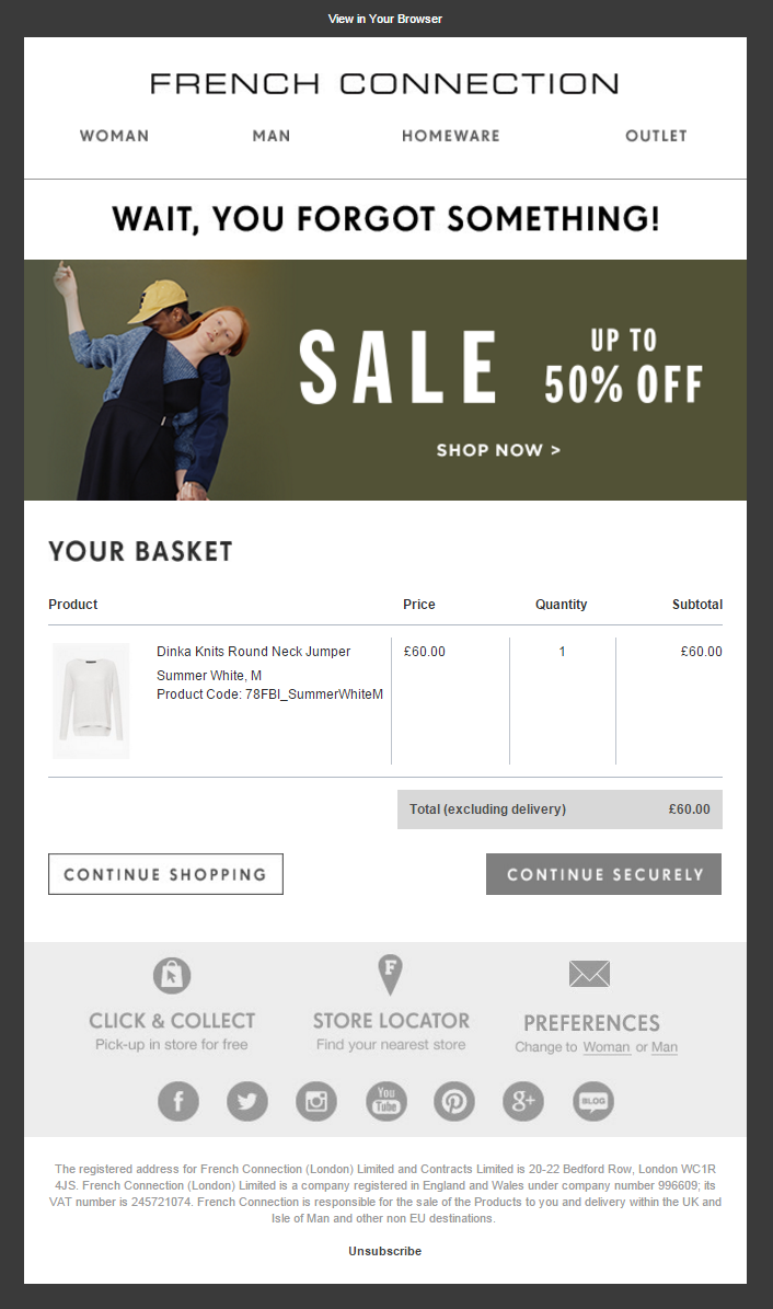 Abandoned Cart Emails Strategy And Timing Klaviyo Email Serie