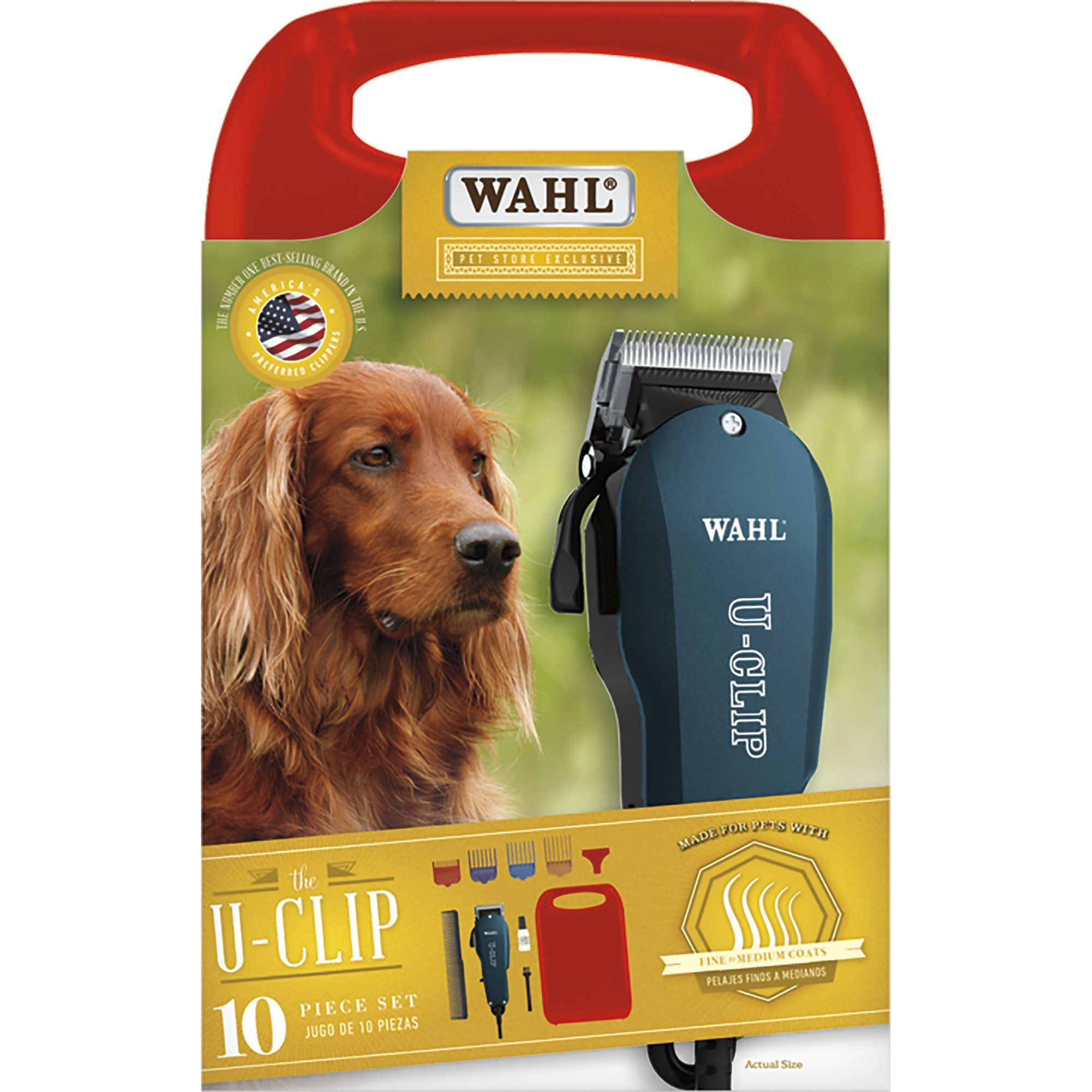 Wahl U Clip Pet Clipper Kit Petco Hair Clippers Grooming Kit Dog Grooming Supplies