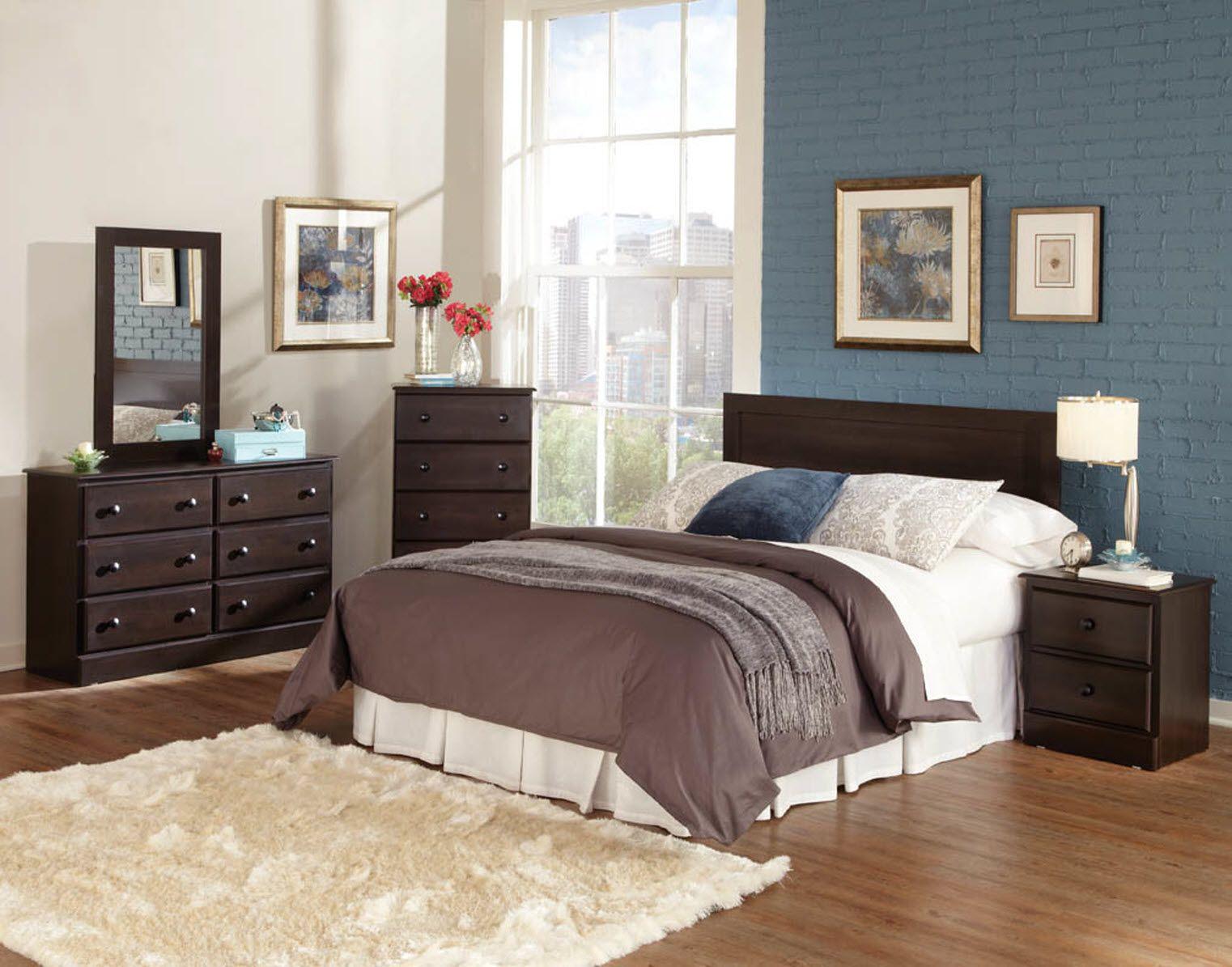 Bedroom Designs Paint Colors Cherrydarkwoodbedroomfurnituredecorforapartmentbrickwall