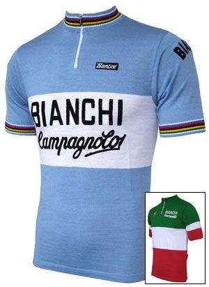 f341a2de0 Bianchi Campagnolo Wool Jersey Cycling Jerseys