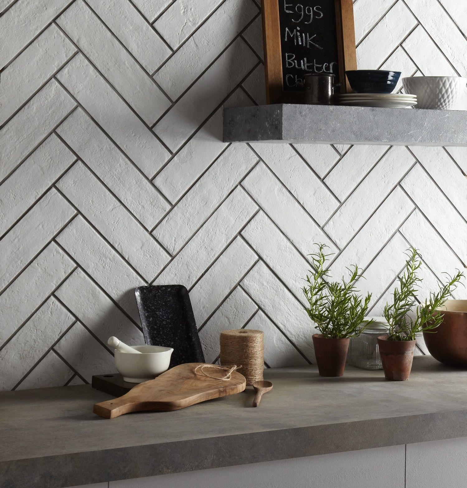 Style Your Home With Brick Effect Tiles Kitchens Review White Brick Tiles Brick Effect Tiles Brick Tiles