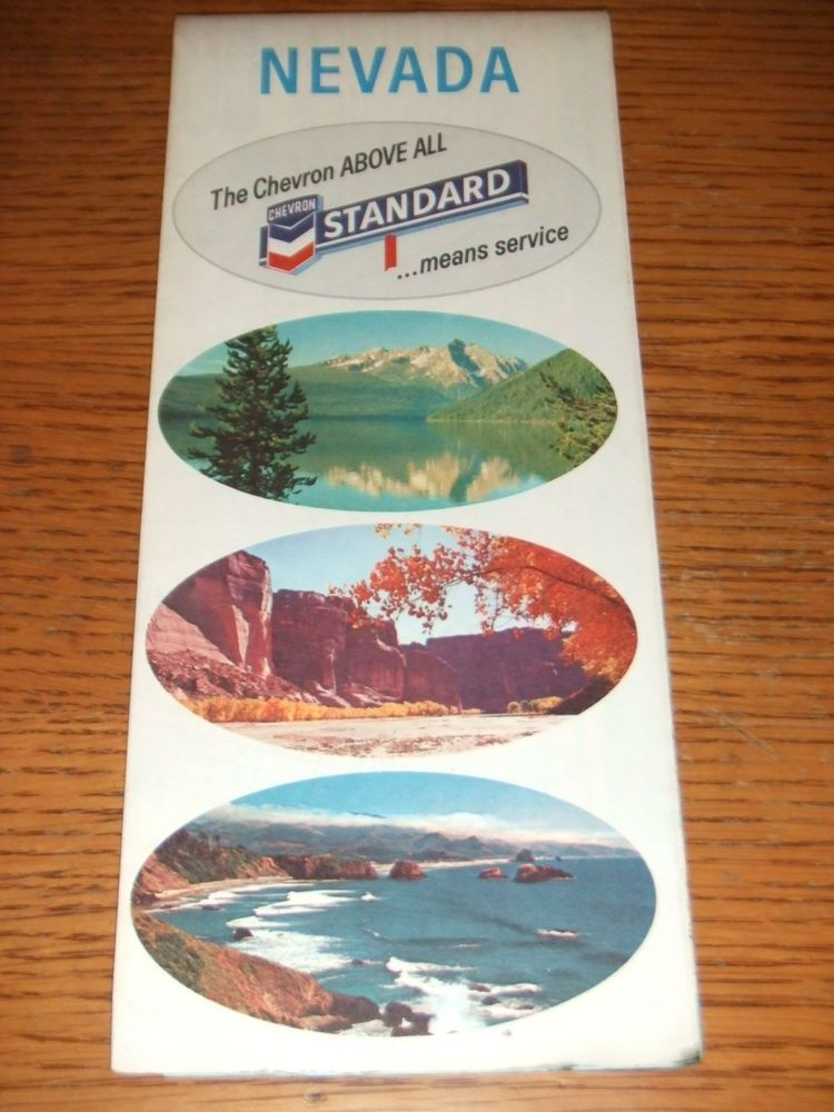 PaincorpsRareFinds VINTAGE 1967 Chevron Standard Oil Gas