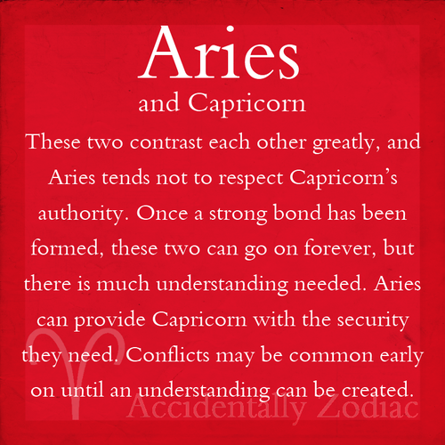 aries and capricorn relationship