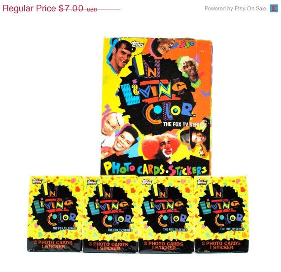 Hey, I found this really awesome Etsy listing at https://www.etsy.com/listing/92921191/on-sale-in-living-color-trading-cards
