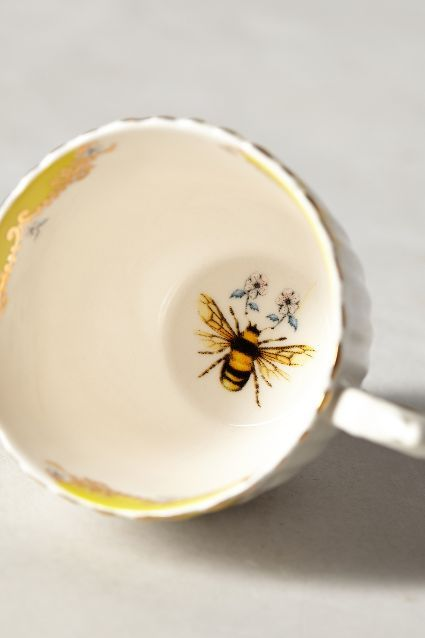 There would be nothing better than finishing my tea and seeing a Bee to remind me of my mother.
