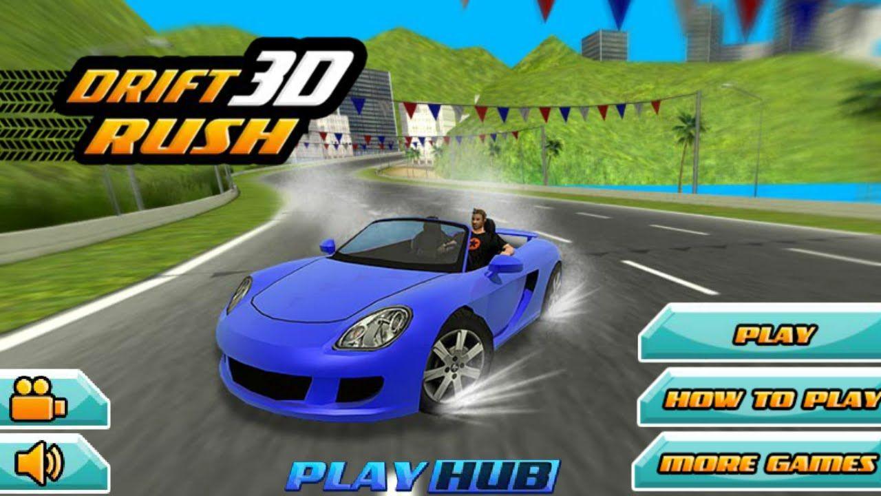 play the game drift rush 3d drift car racing game for kids