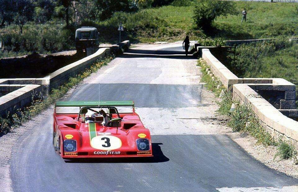 Arturo Merzario - Ferrari 312PB - 1973 Targa Florio (con immagini)   Targhe, Auto da corsa