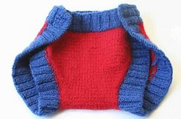 Ravelry: Day-to-Night Felted Soaker pattern by Lion Brand Yarn