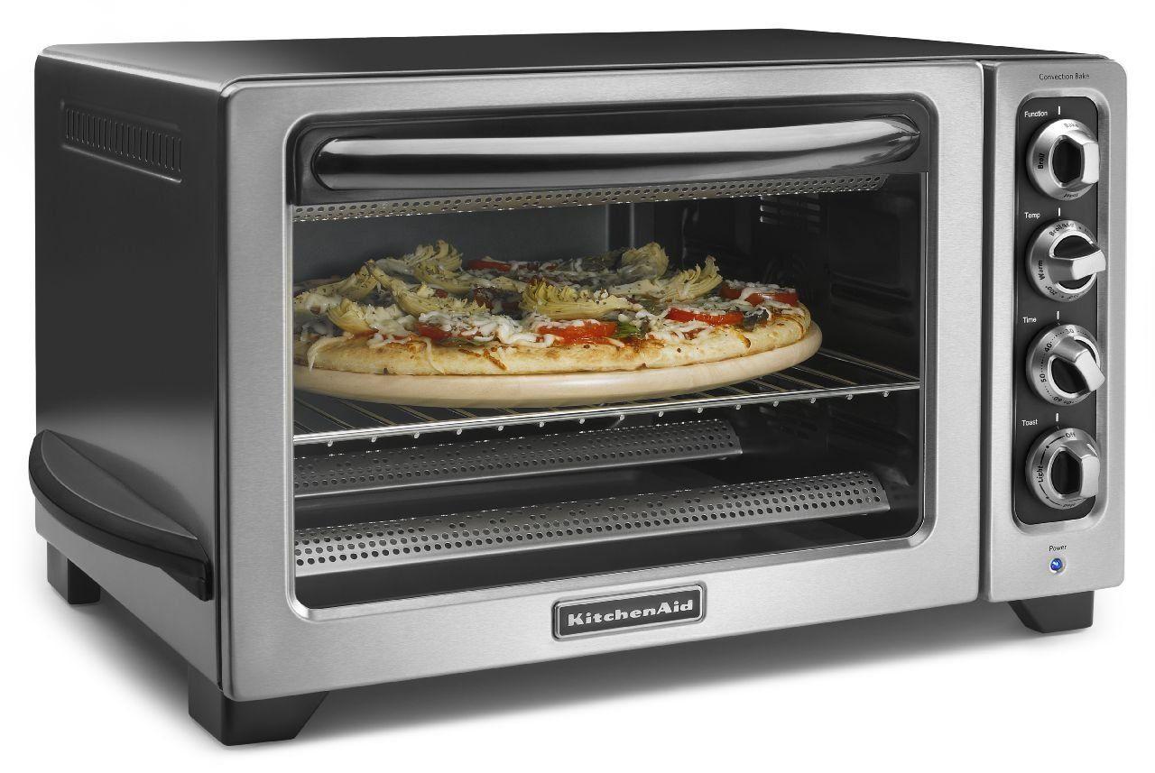 Kitchenaid Kco234ccu 12 Convection Countertop Oven With Black