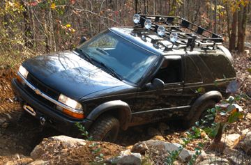 Adventure Car Chevrolet Blazer Chevy S10
