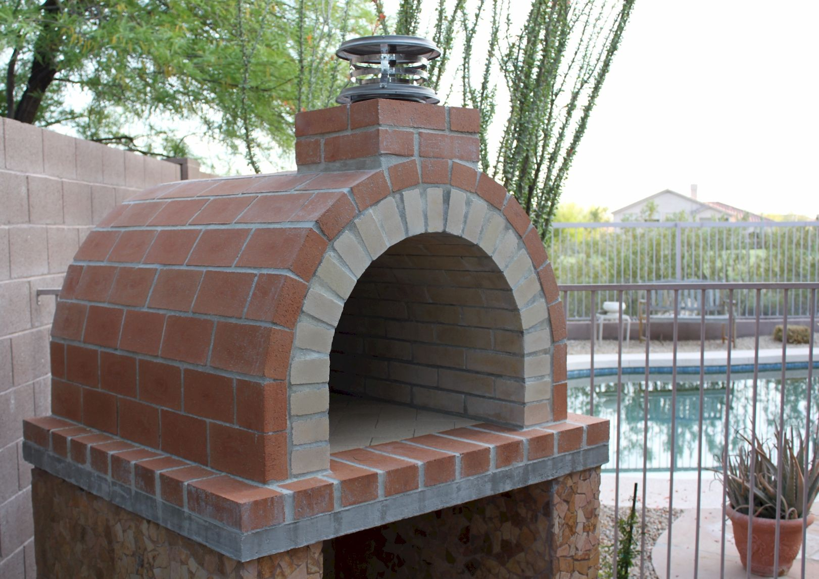 Build A Wood Fired Brick Oven / DIY Pizza Oven by ...