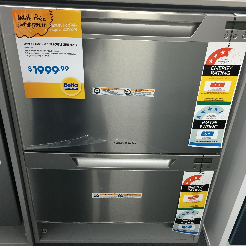 Double drawer dishwasher drawer dishwasher double