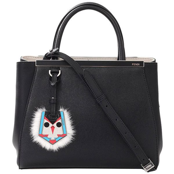 shopper tote - Black Fendi NoFVjy