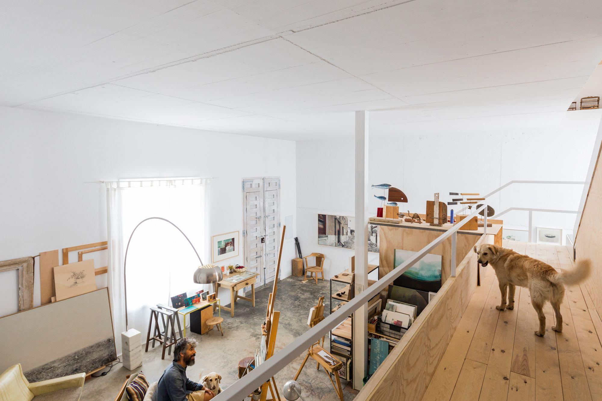 Weiße Wände Für Einen Maler: Wohnen Und Arbeiten In Gaucín