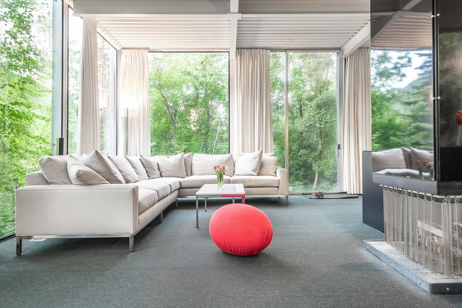 Own this iconic glass home in salt lake city for k in