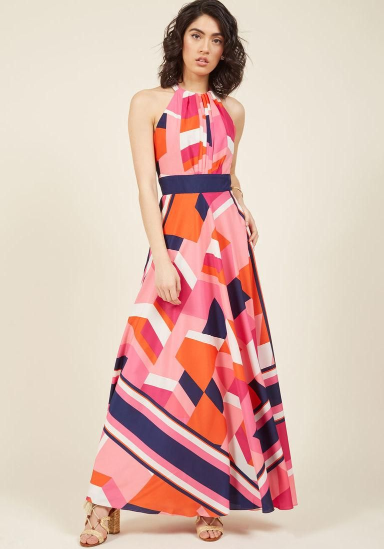 Eliza j shape color and architecture maxi dress in pinterest