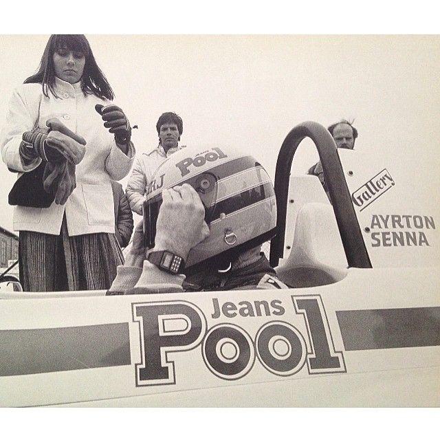 "@ayrtonsennatribute's photo: ""Ayrton Senna and Christine, his brazilian girlfriend at the time Ayrton Senna e Christine, namorada brasileira na epoca... #ayrton #ayrtonsenna #senna #speed #saudades #simplythebest #thebest #f1 #F3 #fast #formula1 #formula3 #formulaone #racing #racingcar #racingdriver #legend #legends #legendary #westsurreyracing #1983"""