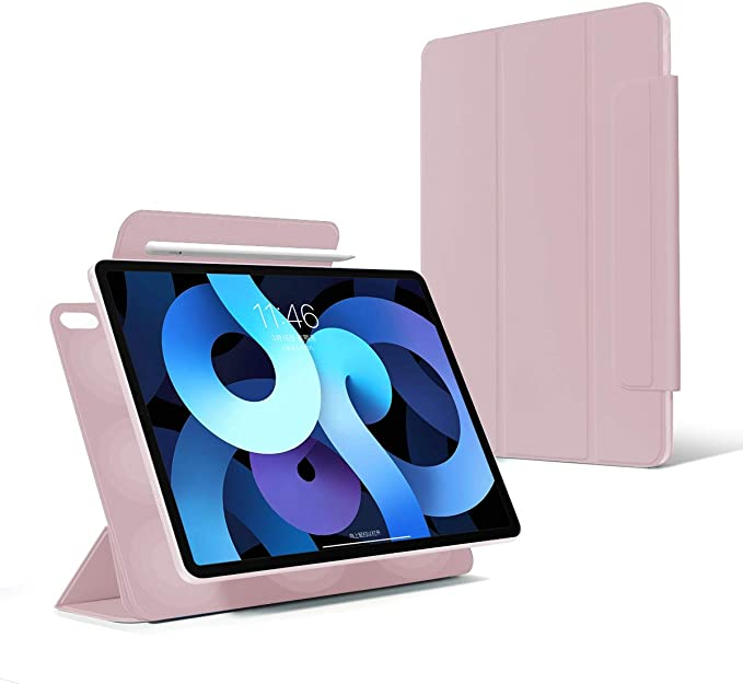 Amazon Com 2020 New Ipad Air 4th Generation 10 9inch Rebound Magnetic Smart Case Convenient Magnetic Attachment Cover Ipad Air Accessories Smart Case New Ipad