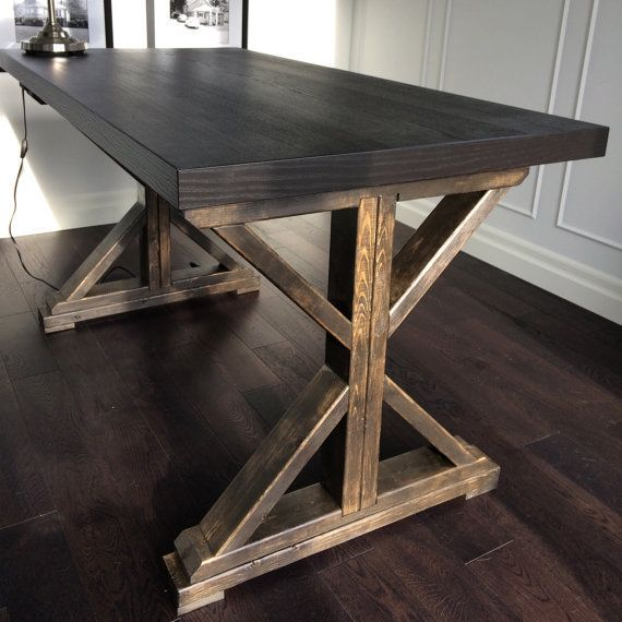 Urban Barn Inspired Desk Table By Masariocraft On Etsy
