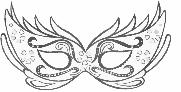 Clip Art Masquerade Mask Clipart black and white masquerade masks clip artmask art vector free images from the web pinterest mask template cl
