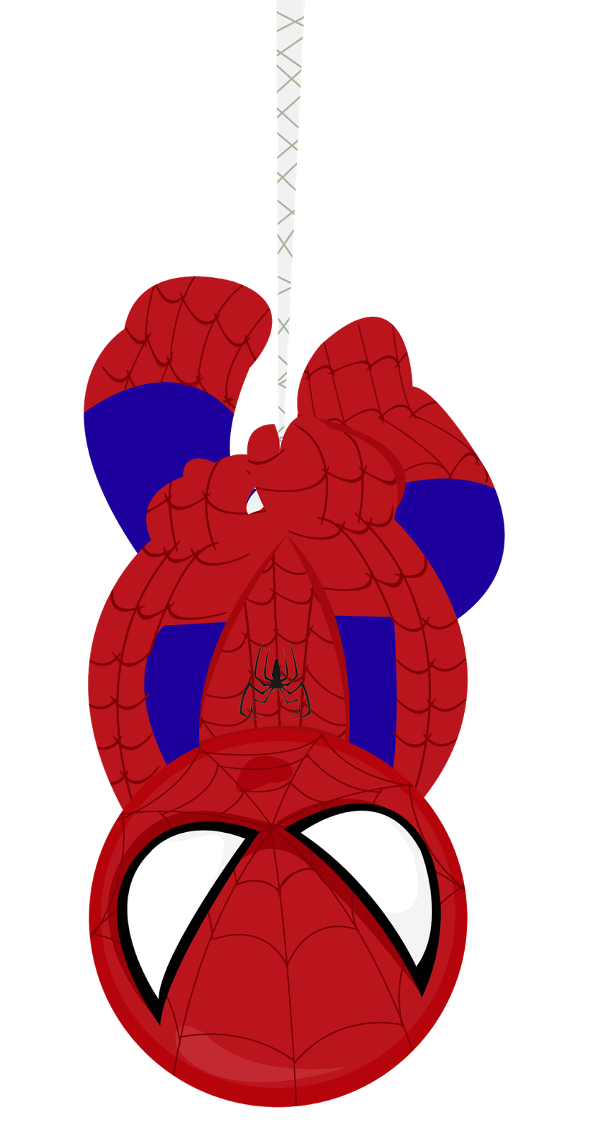Spiderman baby transparent.
