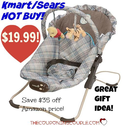 Disney Winnie the Pooh Bouncer for only $19.99 at Sears/Kmart! Save over $35 off Amazon price! Grab it now! Would be a perfect gift! Click the link below to get all of the details ► www.thecouponingc... #Coupons #Couponing #CouponCommunity Visit us at www.thecouponingc... for more great posts!