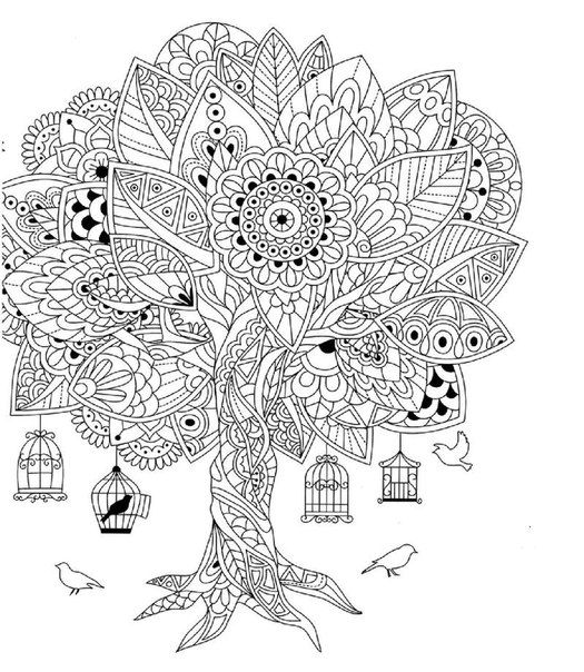 "Adulting coloring pages ~ iColor ""Whimsical"" (This is a beautiful website) 