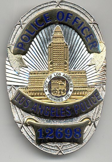 Lapd Los Angeles Police Badges Lapd Badge Police Badge Fire Badge