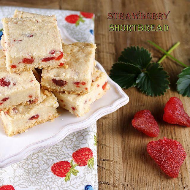 Thick Scottish Strawberry Shortbread