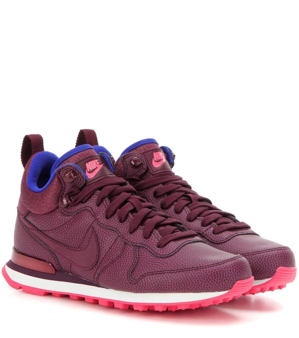 NIKE Internationalist Mid leather sneakers. #nike #shoes #运动鞋